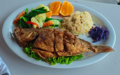 Hotel y Restaurante el Muelle Fried Fish